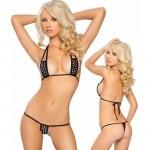 taşlı seksi tanga bikini 150x150 Kapıda Ödeme Fantazi İç Giyim