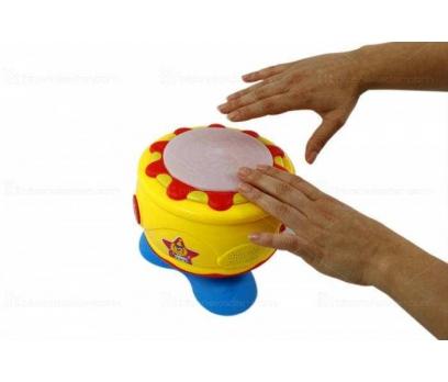 egitici çocuk oyuncakları dokunmatik isikli muzikli bebek davulu  Eğitici Çocuk Oyuncakları