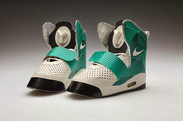 paper sneakers6 Geçmişe Yöneliş Retro Ayakkabılar