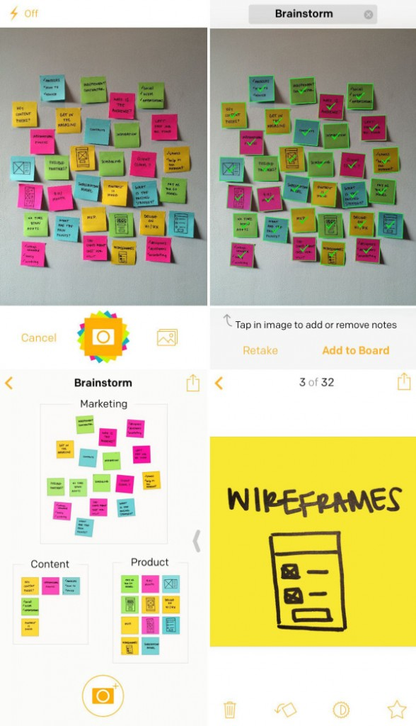post it plus app screens 600x1044 588x1024 Öne Çıkan İOS Uygulamaları