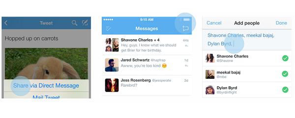 twitter grup mesaj 2 Twitterın 2 Yeni Özelliği