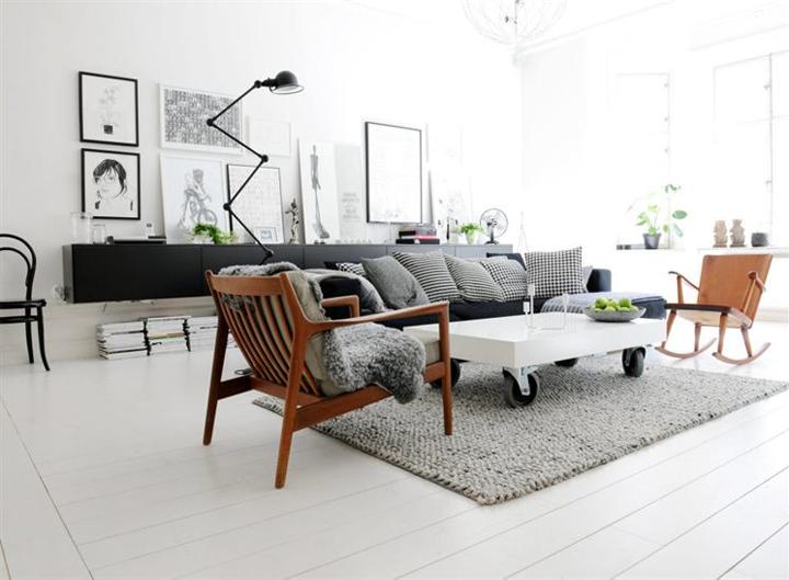 dekoratif salon oturma odasi Ev Dekorasyonuna Önem Verenler için...