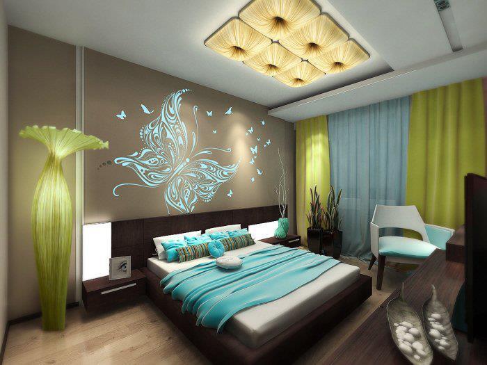 yatak odası dekorasyonu Ev Dekorasyonuna Önem Verenler için...