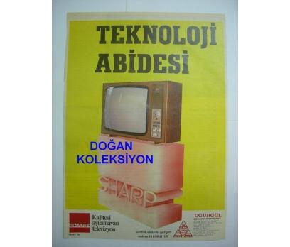 D&K-ESKİ SİYAH-BEYAZ SHARP TELEVİZYON REKLAMI.