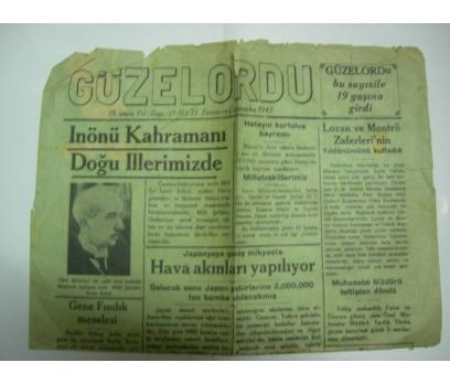 D&K-GÜZELORDU GAZETESİ. 25 TEMMUZ 1945 ÇARŞAMBA