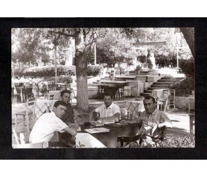 D&K-MANİSA ÇAY BAHÇESİ 1968-FOTOGRAF