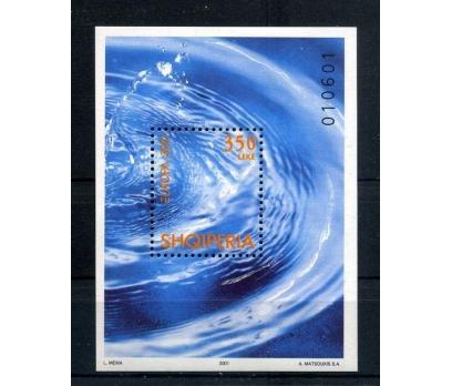 ARNAVUTLUK **  2001  EUROPA CEPT BLOK SÜPER