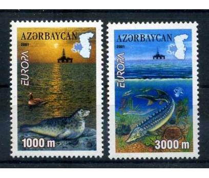 AZERBAYCAN **  2001  EUROPA CEPT  SÜPER