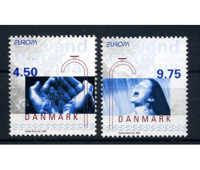 DANİMARKA **  2001  EUROPA CEPT  SÜPER