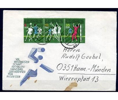 DDR  1974 PGZ HENTBOL TAM SERİ (YZ-1)