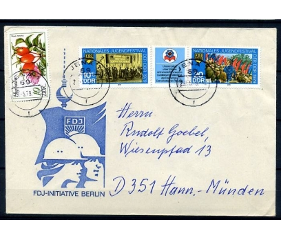 DDR PGZ 1979 2.GÜN GENÇLİK FEST. TAM SERİ (YZ-1)