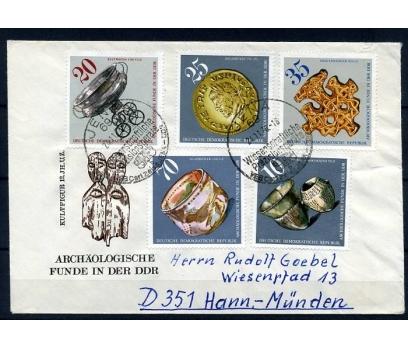 DDR  PGZ 2.GÜN 1976 ARKEOLOJİ TAM SERİ (YZ-1)