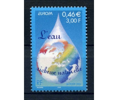 FRANSA  **  2001  EUROPA CEPT  SÜPER