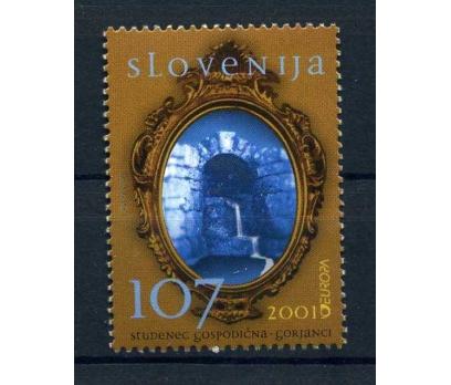 SLOVENYA  ** 2001  EUROPA CEPT  SÜPER