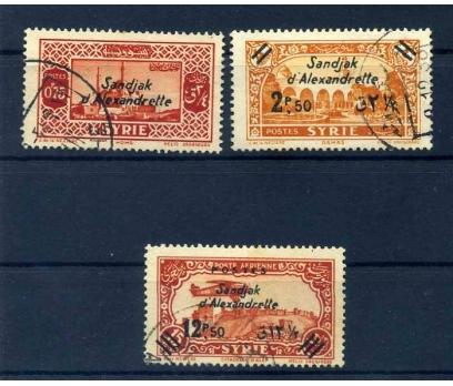 HATAY DAMGALI 1938 S. ALEXANDRETTE TAM