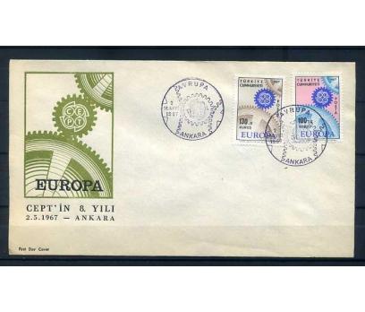 CUMH.FDC  1967  EUROPA CEPT  SÜPER