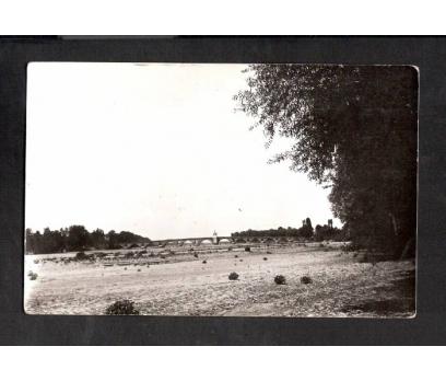 D&K-EDİRNE MERİÇ KÖPRÜSÜ 1928 KARTPOSTAL.
