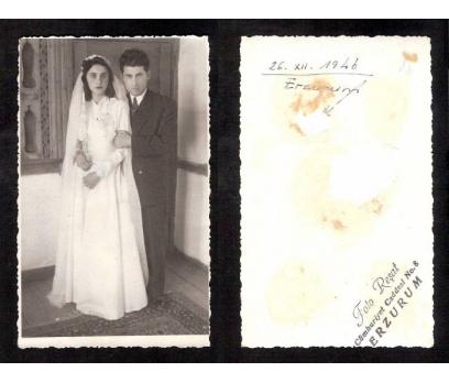 D&K-ERZURUM GELİN DAMAT 1946 YILI-FOTOGRAF