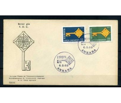 CUMH.FDC  1968 EUROPA CEPT KAMER