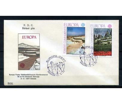 CUMH.FDC 1977 EUROPA CEPT KAMER