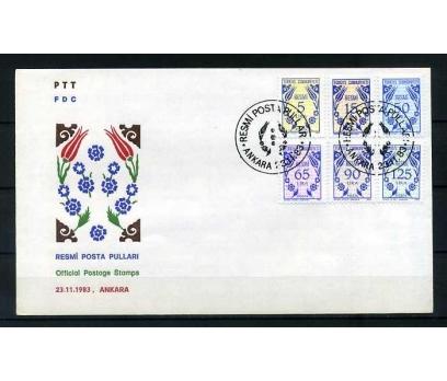CUMH.FDC 1983 RESMİ SERİ SÜPER (300415)
