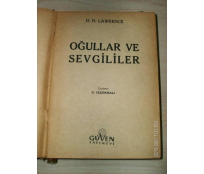 OĞULLAR VE SEVGİLİLER - D.H. LAWRENCE