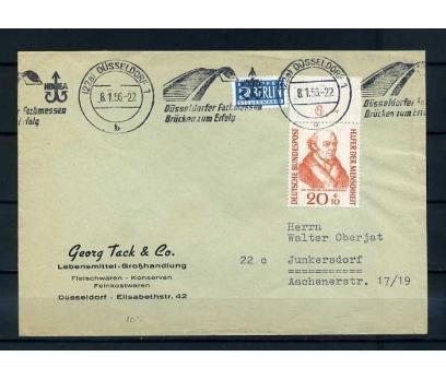 ALMANYA 1956 DR.HAHNEMANN  TEK PULLU PG ZARF SÜPER