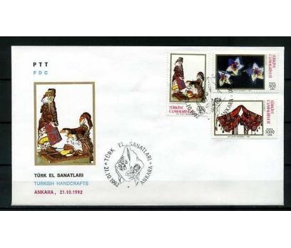 CUMH.FDC 1992  TÜRK EL SANATLARI   SÜPER