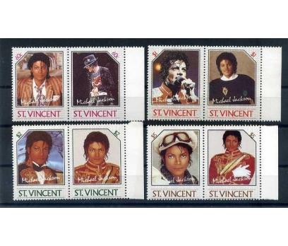 ST.VINCENT 1985 MICHAEL JACKSON TAM SERİ (A-1)