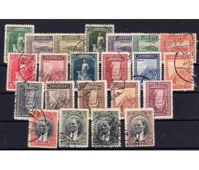 CUMHURİYET  DAMGALI 1930  V.LONDRA  SÜPER(M)