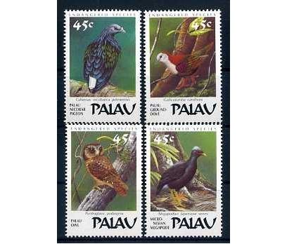 PALAU ADALARI ** 1989 KUŞLAR TAM SERİ SÜPER