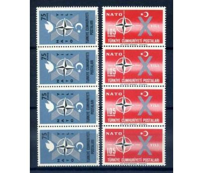 CUMHURİYET ** 1962 NATO' DA 10.YIL D.BANT SÜP