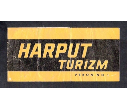 D&K- HARPUT TURİZM OTOBÜS BİLETİ