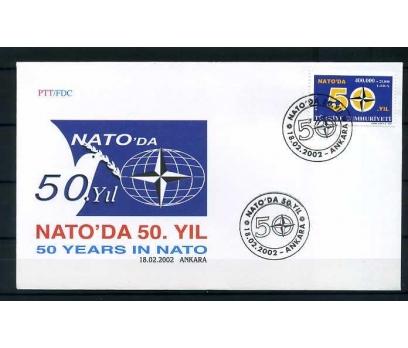 CUMH.FDC 2002 NATO' DA 50 YIL SÜPER