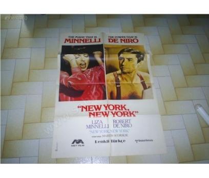 NEW YORK NEW YORK ROBERT DE NIRO LIZA MINELL AFİŞİ