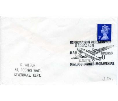 İNGİLTERE 1972  UÇAK ÖZEL DAMGA  SÜPER (YZ-1)
