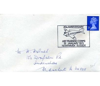 İNGİLTERE 1973 UÇAK ÖZEL DAMGA  SÜPER (YZ-1)