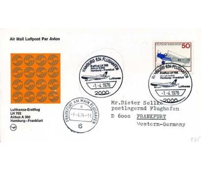 ALMANYA 1976 UÇAK ÖZEL DAMGA  SÜPER(YZ-1)