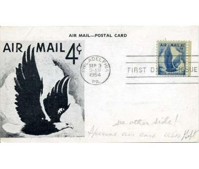 ABD  1954 UÇAK ÖZEL DAMGA  SÜPER(YZ-1)