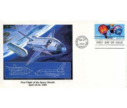 ABD  1983 UÇAK ÖZEL DAMGA  SÜPER(YZ-2)