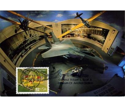 ABD 1997 UÇAK KART MAKSİMUM  SÜPER(YZ-1)