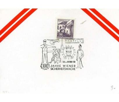 AVUSTURYA 1969 UÇAK ÖZEL DAMGA  SÜPER(YZ-1)