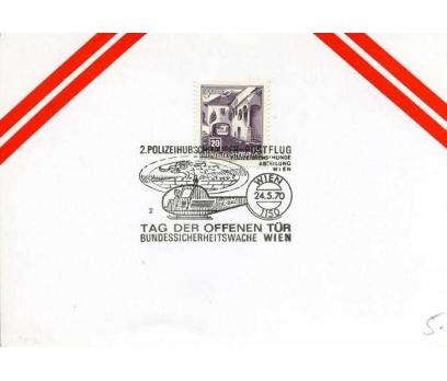 AVUSTURYA 1970 UÇAK ÖZEL DAMGA  SÜPER(YZ-1)