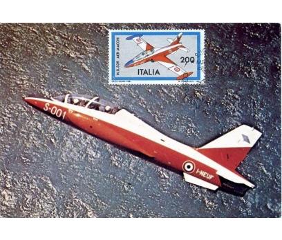İTALYA 1981 UÇAK KART MAKSİMUM  SÜPER(YZ-1)