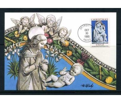 ABD 1985 KART MAX. CHRISTMAS SÜPER