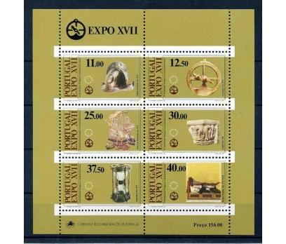 PORTEKİZ ** 1983 EXPO XVII BLOK SÜPER