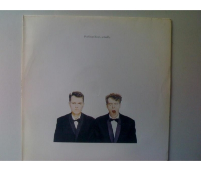 PET SHOP BOYS-ACTUALLY
