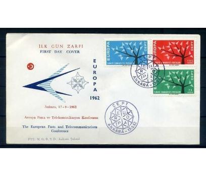 CUMH.FDC  1962 EUROPA CEPT SÜPER 1