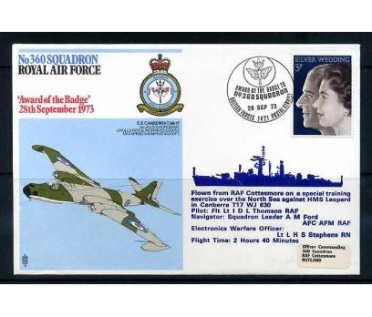 RAF ASKERİ UÇUŞ 1973 E.E.CANBERRAT.Mk 17 SÜPER