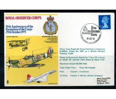 RAF ASKERİ UÇUŞ 1975 SUPERMARINE SPITFIRE 2 SÜPER